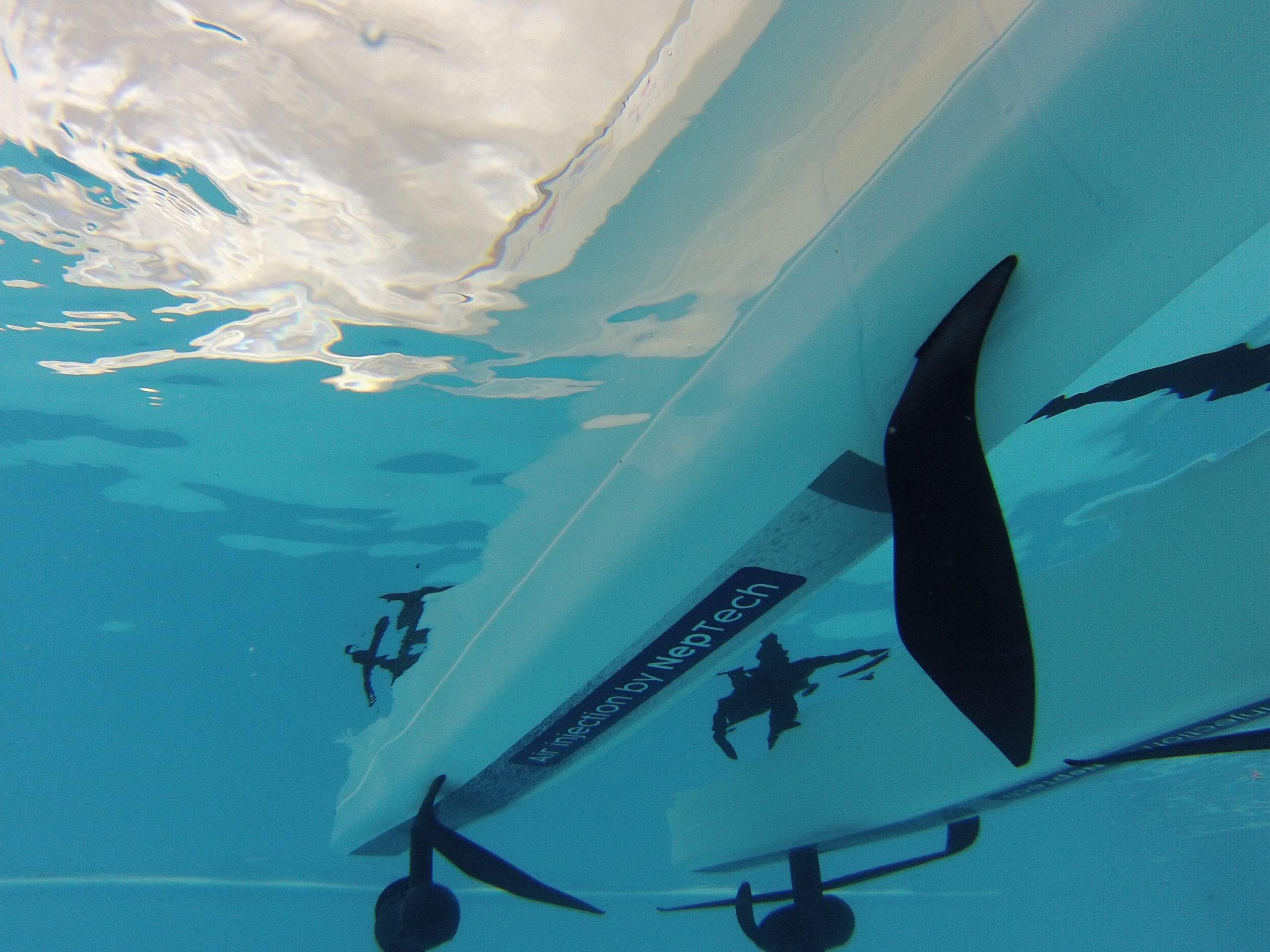 Hydrogen boat innovation foil